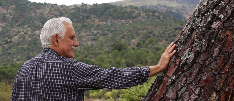 Vídeo Pensiones. Solidaridad entre generaciones, abuelo