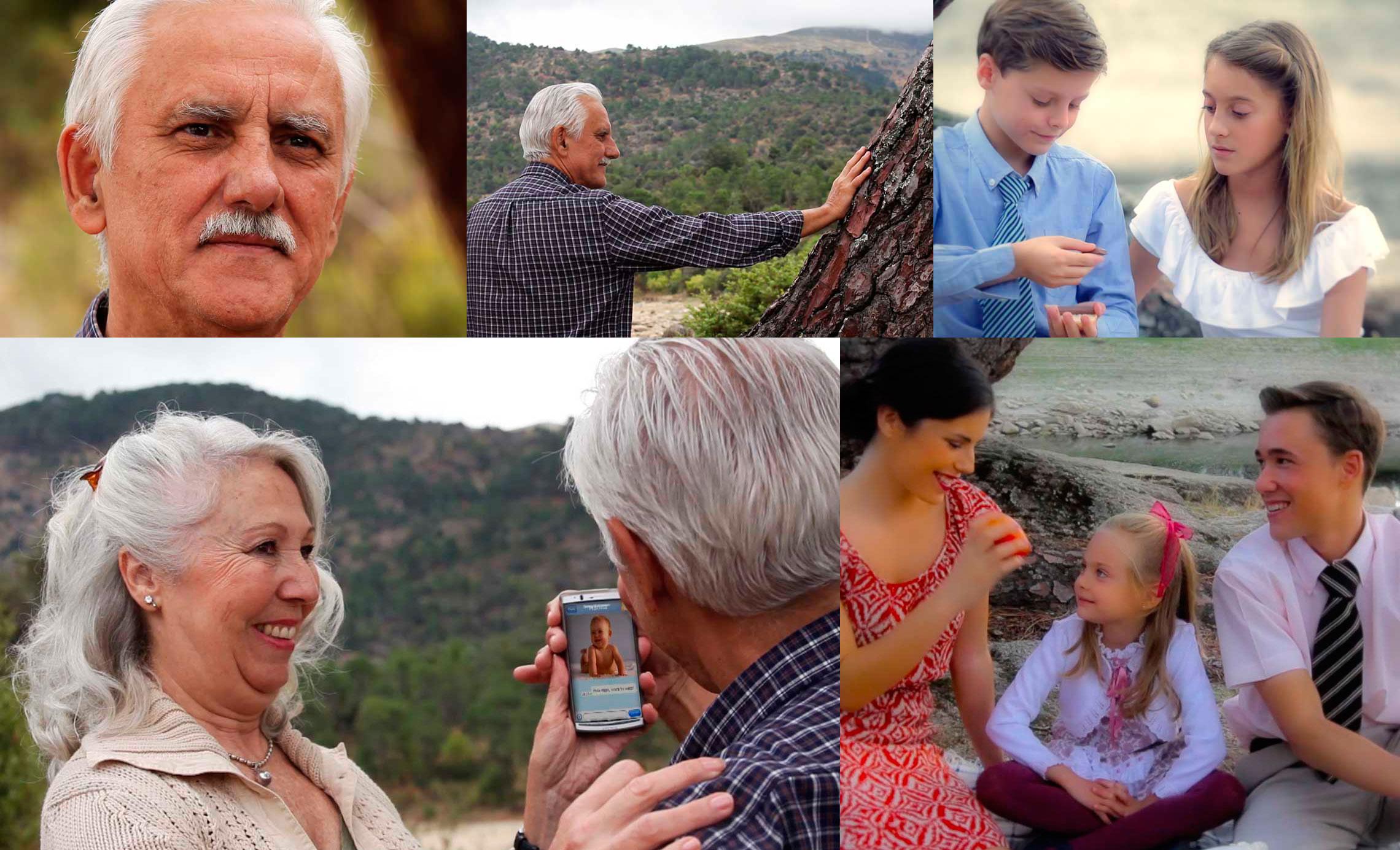 Vídeo Pensiones. Solidaridad entre generaciones, plantilla