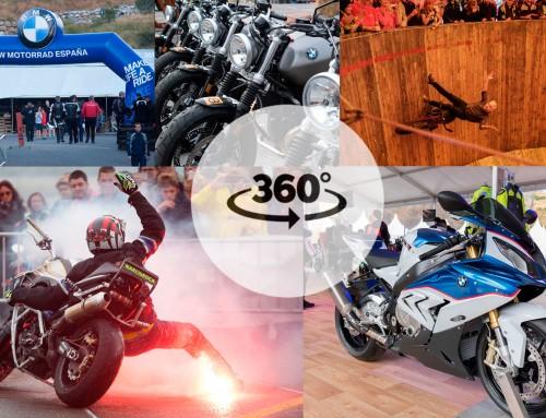 Vídeo 360 BMW Motorrad Days Formigal 2016